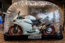 Ducati 959 in der Bikecapsule Galeriebild