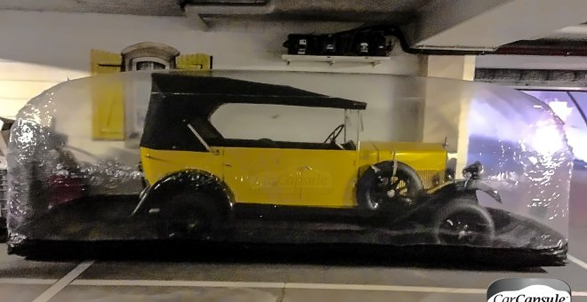Fiat Torpedo sicher im Winterschlaf. Galeriebild
