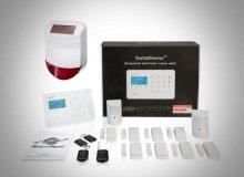 Großes Set SP210 - 4G Version mit Sabotageschutz – WIFI / GSM / SMS Alarmierung - Lichtsteuerung